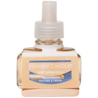 Yankee Candle Peaches & Cream, Fruit Scent ()