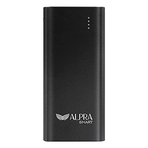 ALPRA SMART  20000 mAh Li  Polymer Power Bank, 18W Fast Charging  ALPRA Fast 20   Black