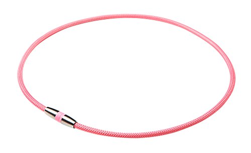 Phiten (phiten) Necklace RAKUWA Magnetic Titanium Necklace Pink 45cm