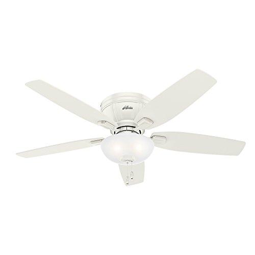 Hunter 53378 Kenbridge 52'' Ceiling Fan with Light, Large, Fresh White by Hunter Fan Company (Image #13)