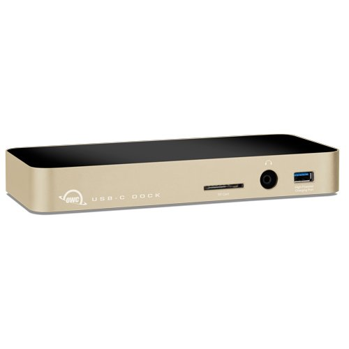OWC USB-C Dock, 10 port, designed for MacBook-Gold w/ HDMI by OWC (Image #3)