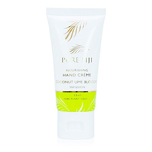 - Pure Fiji Hydrating Hand Creme, Coconut Lime Blossom, 1.2 Ounce