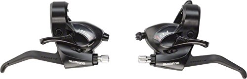 Shimano Ef41 3X7-Speed Brake/Shift Lever Set Black ()