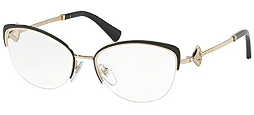 Bvlgari Women's BV2198B Eyeglasses Black/Pink Gold (Bulgari Eyeglasses)