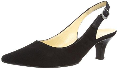 Gabor Hume - Zapatos para mujer Black Suede