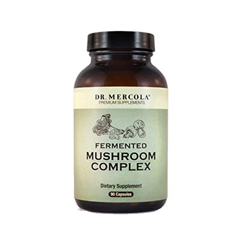 Dr. Mercola Whole Food Mushroom Complex - 90 Capsules