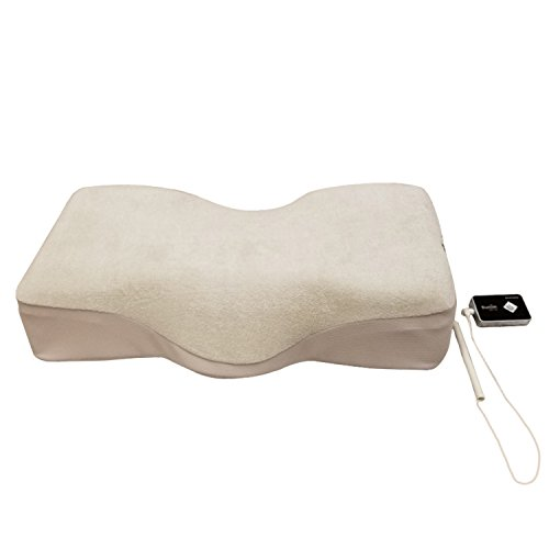 Bone Conduction Music Sound Therapy Neck and Cervical Traction High Density Magic Foam Standard/Queen Therapeutic Sleeping Pillow