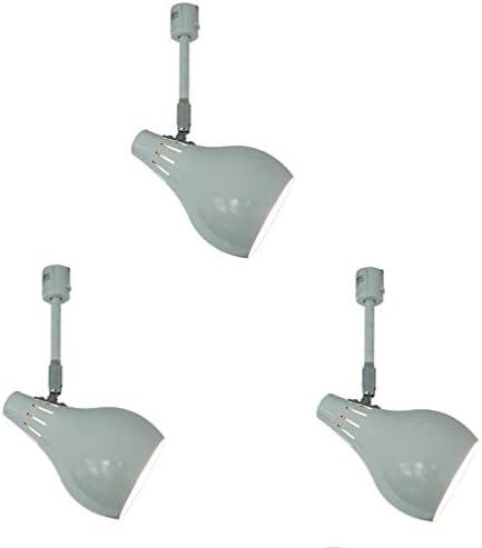 [スポンサー プロダクト]KUSHIMAX 照明器具 天井照明 間接照明 ダクトレール ライティングバー LED レールライト ダクトレール用 レール ライト ダクトレール用スポットライト スポットライト 3個セット (ホワイト)