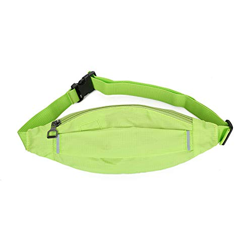 New Luminous Portable Waist Pack Handy Men Women Unisex Handbag Fanny Pack Purse Pouch Money Phone Leg Bum Messenger Bag Belt Green (Customize Your Own Bmx Bike For Cheap)