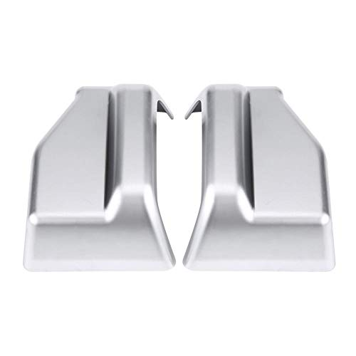 Seat Safety Belt Trim, 2Pcs ABS + chrome Seat Safety Belt Decoration Cover Trim for Mercedes Benz E Class W212 W213 S Class W222