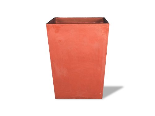 (Amedeo Design 2513-280T Corner Tapered Planter, 18.5 by 28 by 18.5-Inch, Terra Cotta)