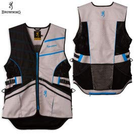 Browning, Ace Shooting Vest, Blue, Small