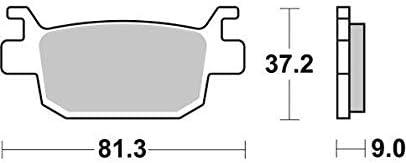 Honda SH300i SH30 15 16 17 18 SBS Performance Rear Ceramic Brake Pads Set Genuine OE Quality 193HF