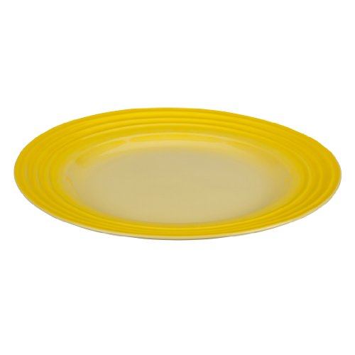 Le Creuset Stoneware 12-Inch Dinner Plate, Soleil