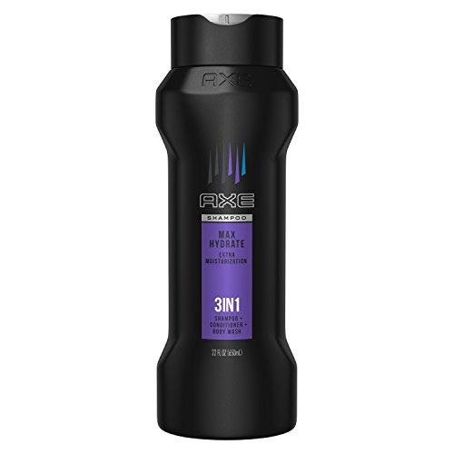 AXE 3 in 1 Shampoo, Conditioner & Body Wash, Max Hydrate, 22