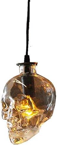 lampe tête de mort verre 2