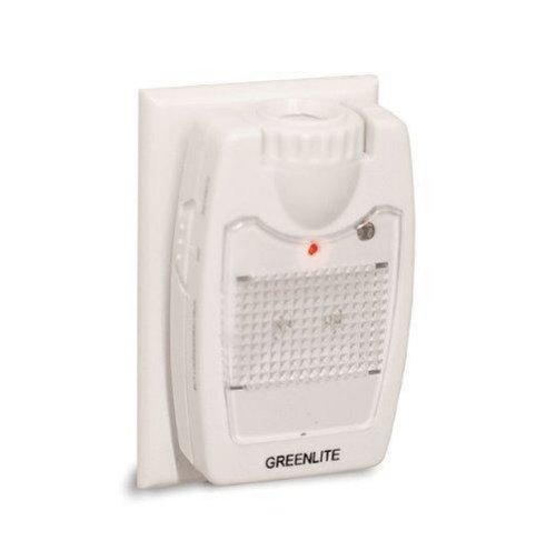 Greenlite NL/WH/3/1/CD/1 - LED 3-in-1 Night Light, Emergency Light, & Flashlight ** 2 PACK ** - 1 Wh 1 Light