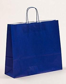 XL grandes bolsas de papel Bolsa de Regalo Azul 42 x 13 x 37 ...