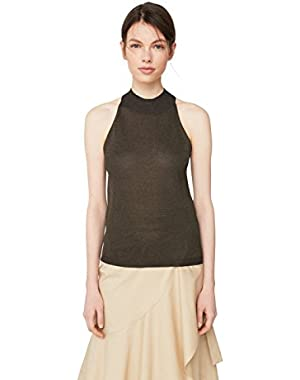 Mango Women's Halter Neck Top