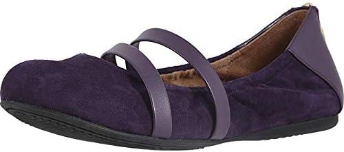 SoftWalk Women's Sierra Ballet Flat, Royal Purple, 8.5 W US