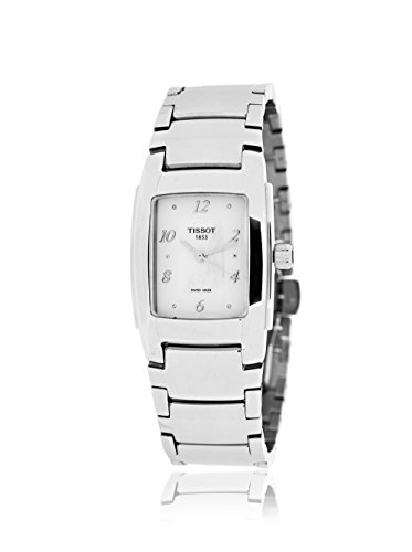 Tissot T-Trend Mother of Pearl Dial Stainless Steel Ladies Watch T0733101111600