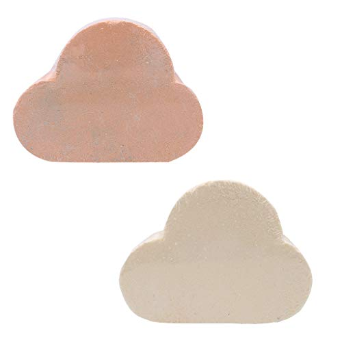 - NewKelly 2pcs Bath Salt Rainbow Soap Ball Skin-Care Bath Bomb Bubble Massage Bath Ball
