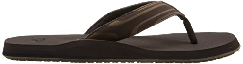 Quiksilver Mens Monkey Oasis Sandal Demitasse Solid 2xGWQc