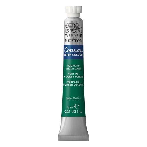 Cotman Watercolor Paint 8ml/Tube-Hooker's Green Dark