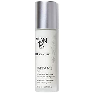YON-KA AGE DEFENSE HYDRA NO. 1 FLUIDE Hydratante, Reparatrice Fluid (1.7 Ounce / 50 Milliliter) - Non-Greasy Hydrating Fluid Designed For Oily Skin Types