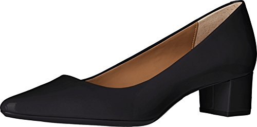 Calvin Klein Women's Genoveva Dress Pump, Black Patent, 8.5 M US (Calvin Suede Heels)