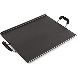 Cello Non Stick Square Patri Tawa, Black, 35.6 X 29.4 X 1.4 CM