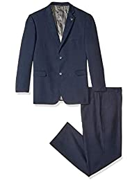 Men's Big & Tall Suny Vested Three-Piece Suit