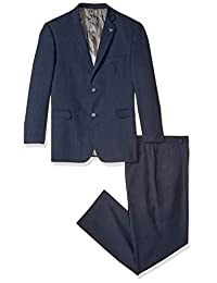 Stacy Adams Men's Big & Tall Suny Vested Three-Piece Suit