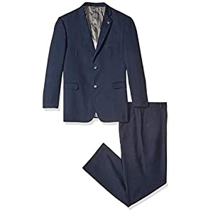 Stacy Adams Men's Big & Tall Suny Vested Three-Piece Suit