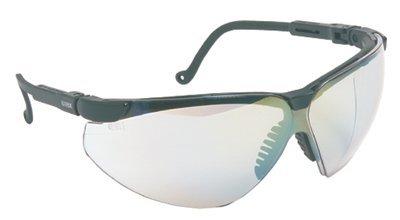 (XC Two Shot Safety Glasses Black Frame Mirror)
