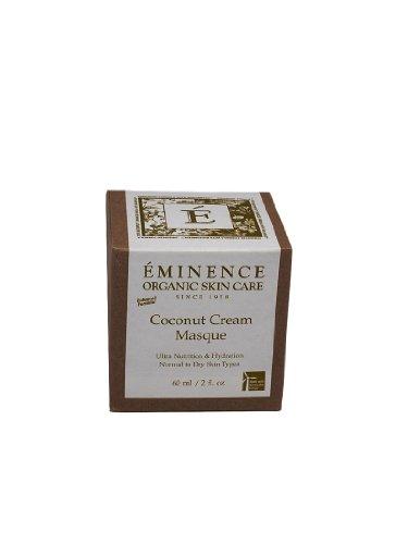 Eminence Organic Skincare Masque, Coconut Cream, 2 Fluid Ounce Coconut Age Corrective Moisturizer