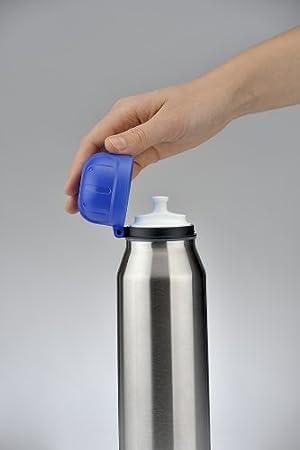 alfi 5337.677.035 Isolier-Trinkflasche isoBottle II 12 Stunden hei/ß Edelstahl Einhorn Pink 0,35 l 24 Stunden kalt BPA-Free