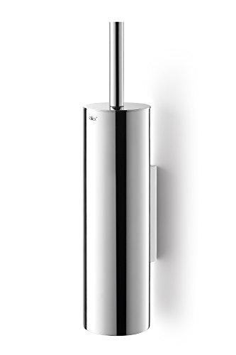 Zack 40068 Wall Mounted Tubo Toilet-Brush, Mirror Polished Finish, 15.74 by -