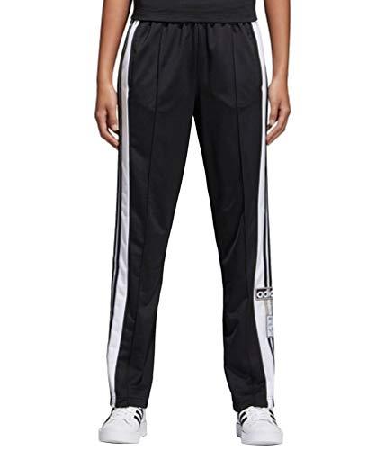 adidas Women's Adibreak Trackpant, Black/Carbon, XS