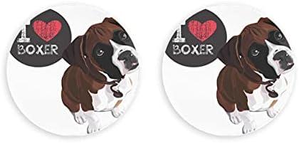Vector Closeup retrato perro doméstico Boxer abridor de botellas de cerveza magnético 2 piezas abridor de cerveza imanes de nevera