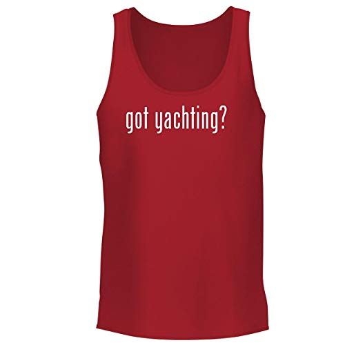 BH Cool Designs got Yachting? - Men's Graphic Tank Top, Red, XX-Large ()