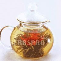 Glass Teapot Teahouse 1 Count