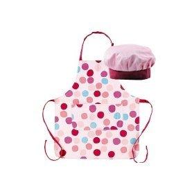 Grembiule Cucina Bambini Fai Da Te.Miniamo Cupcakes Set Da Cuoco Per Bambini Cappello E