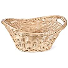 "Willow Specialties 81315.25 25"" x 19"" Laundry Basket"