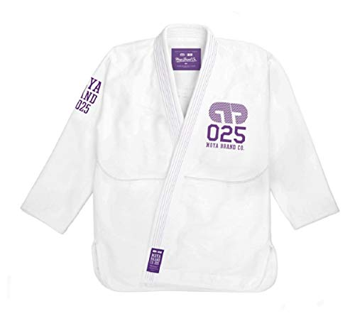 Moya Standard Issue Adult Jiu Jitsu Gi - White, White/Purple, Blue, Black - IBJJF Approved (Best Bjj Gi Brands)