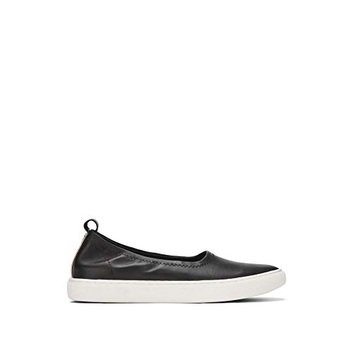 Kenneth Cole New York Women's Kam Ballet Slip On Stretch Sneaker, Black, 6 M US