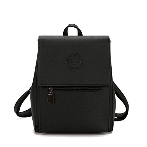 spalla Wild portatile colore Messenger Messenger Student Retro School nero Bag moda vento Zaino Britannico bianco Willsego 1SqwR8Bxx