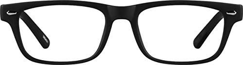 8551fee0f5 Kids Zenni Optical Blokz Blue Light Blocking Computer Glasses Rectangle  Black Plastic Frame 263421