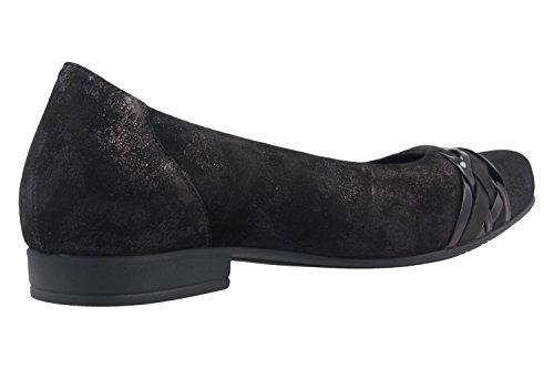Gabor 38 39 40 38 41 5 negro Negro Ballerina Damen Comfort intercambiable xZq6wCn8n