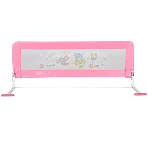 Toddler Bed Rail-Pink SBP-289 by COSTWAY (Image #3)